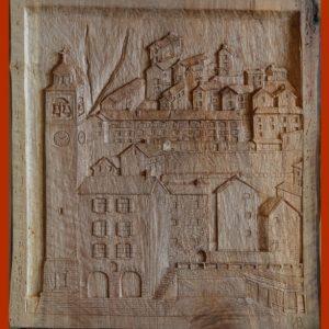 gurro scultura legno
