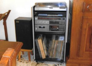 annunci stereo dischi vinile
