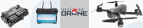 tactic air drone banner
